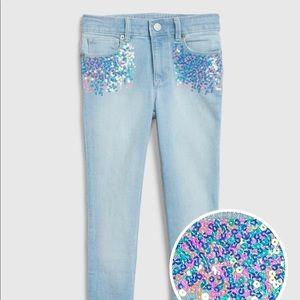 Gap Kids Sequin Super Skinny Jeans  Fantastiflex